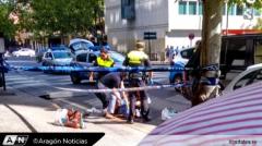 Împușcături în Spania într-un mall din Zaragoza. Doi oameni răniți grav