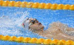 Înot: Robert Glinţă, medaliat cu bronz în proba de 100 m spate, la Europenele în bazin scurt