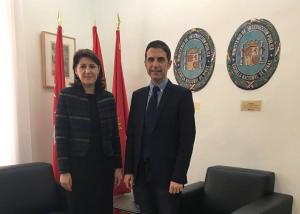 Întâlnire a Ambasadorului României la Madrid cu Primarul orașului Alcalá de Henares