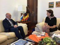 Întâlnirea Ambasadorului României în Spania cu Președintele Autorității Insulare (Cabildo) din Gran Canaria