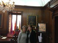 Întâlnirea ambasadorului român cu primarul orașului Toledo