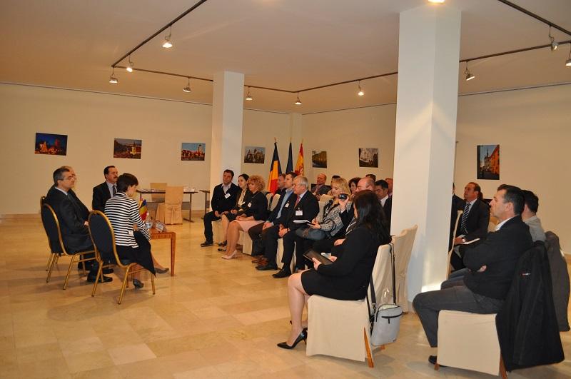 Encuentros de negocio en Madrid de la misión económica rumana