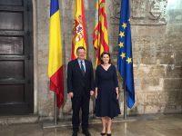 Întrevederea Ambasadorului României cu președintele Guvernului Comunităţii Valenciene (Generalitat Valenciana), Ximo Puig