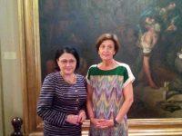 Întrevederea preşedintelui comisiei pentru învăţământ, ştiinţă, tineret şi sport din Senatul României cu prim-vicepreşedintele comisiei pentru educaţie şi sport din Senatul Spaniei