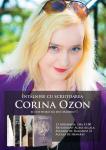 13 noiembrie: Scriitoarea Corina Ozon își așteaptă cititorii români din Madrid la Restaurant Acasă Alcalá