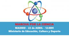 22 de abril: Madrid se une a la Marcha por la Ciencia junto a más de 500 ciudades