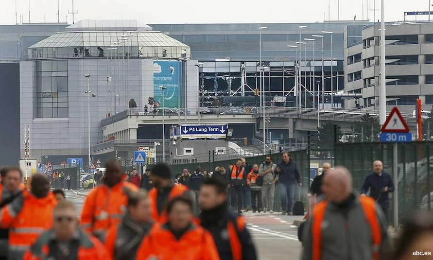 34 muertos y 187 heridos tras la cadena de explosiones en Bruselas
