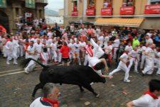 42 de persoane rănite în timpul Festivalului San Fermin din Pamplona încheiat sâmbătă
