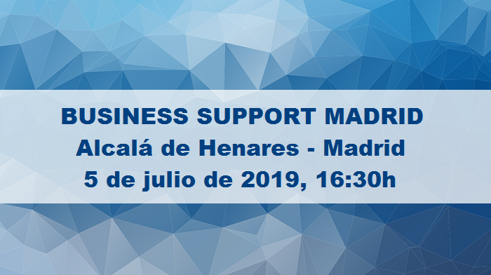 5 de Julio: Un Evento para Tu Negocio - BUSINESS SUPPORT MADRID, en Alcalá de Henares, Madrid