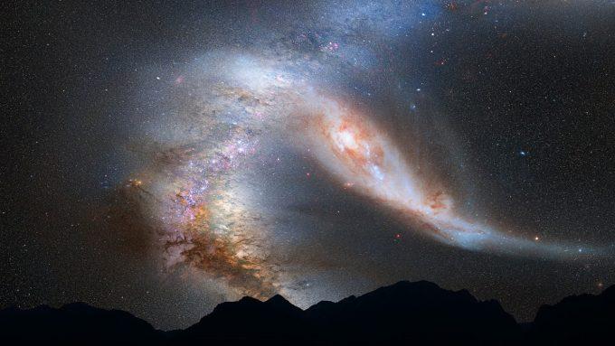A fost calculat momentul în care Calea Lactee se va ciocni de galaxia Andromeda