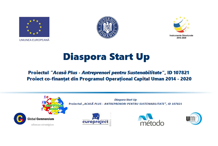 """AUDIO: Prezentarea Proiectului """"Acasă Plus – Antreprenori pentru Sustenabilitate"""" pentru românii din diaspora"""