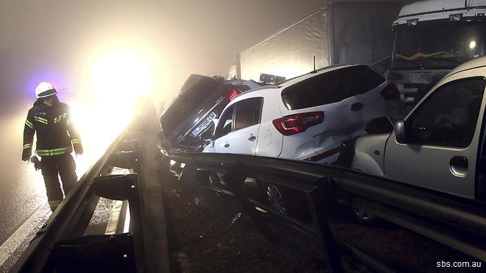 Accident în lanț Slovenia: accidente rutiere în străinătate în care au fost implicați cetățeni români (cronologie)
