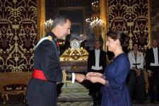 Acreditarea doamnei Gabriela Dancău în calitate de Ambasador Extraordinar și Plenipotențiar al României în Regatul Spaniei