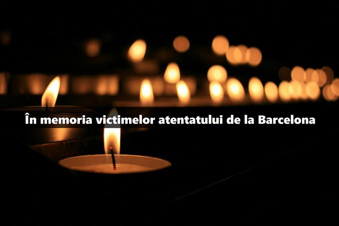 Alături de Barcelona într-o zi de mare tristețe, cu multe lacrimi și suferință