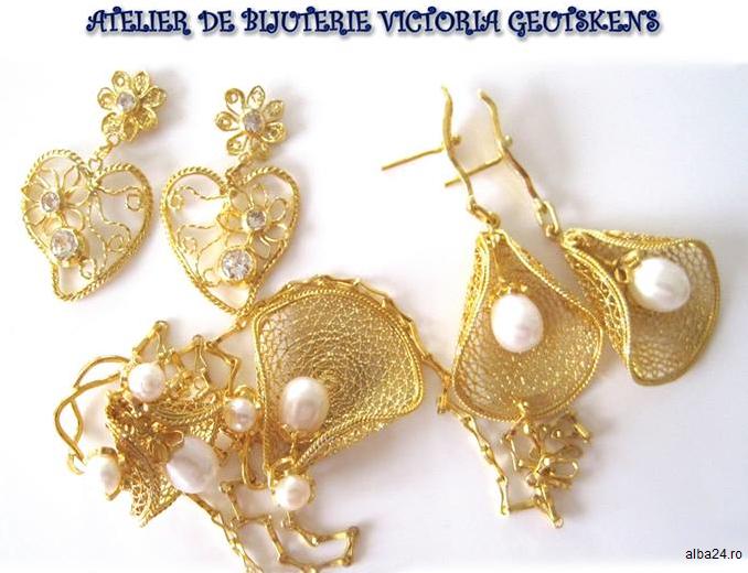 Alba: Bijuterii de aur cu o puritate 999/1000, unice în Europa, expuse în premieră în public