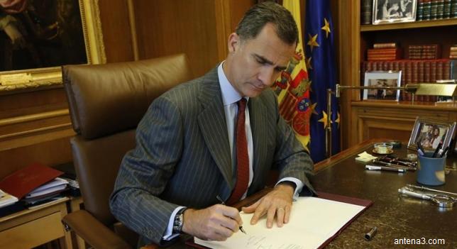 Alegeri anticipate în Spania pe 26 iunie. Regele Felipe al VI-lea a semnat decretul de dizolvare a Parlamentului