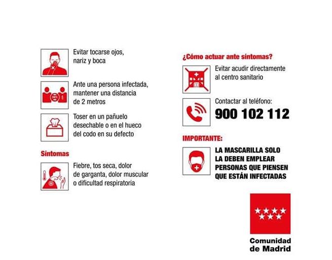 Ambasada României în Spania: Informații importante privind virusul COVID-19/Coronavirus