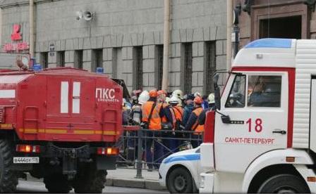 Atacul din Sankt-Petersburg, o răzbunare a grupării Statul Islamic, potrivit presei ruse