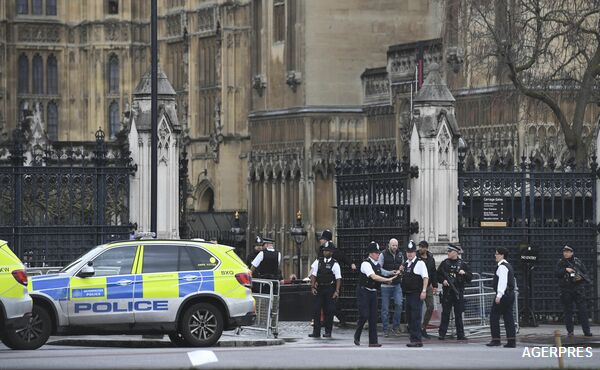 Atacuri în apropierea Parlamentului de la Londra; cel puțin 12 persoane au fost rănite