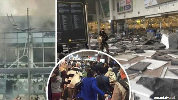 Atacuri teroriste la Bruxelles; Cel puțin 34 de morți, potrivit unui bilanț provizoriu