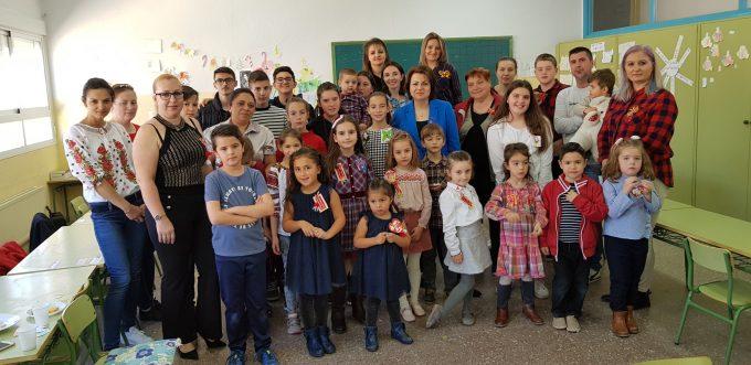 """""""Atelier de Mărțișoare"""" în cadrul Cursului LCCR din Ocaña (Toledo)"""