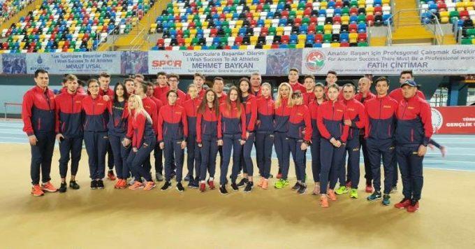 Atletism: România a cucerit cinci medalii de argint la Campionatele Balcanice de sală pentru juniori