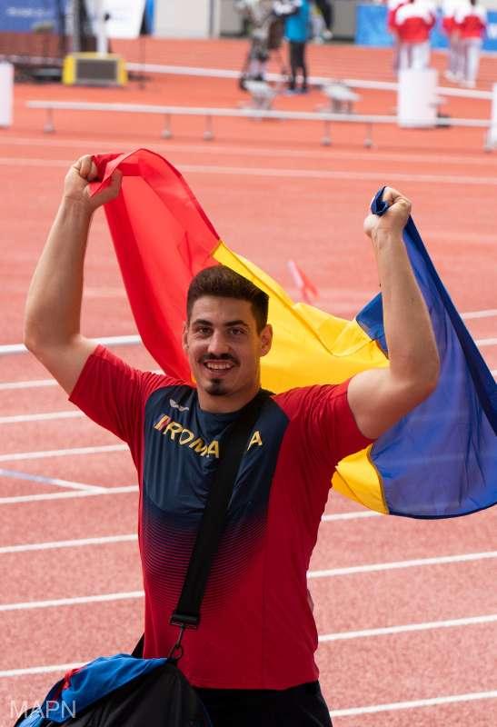 Atletul Alin Firfirică a adus delegaţiei României prima medalie de aur la Jocurile Mondiale Militare de la Wuhan