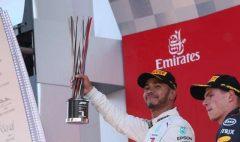Auto-F1: Britanicul Lewis Hamilton (Mercedes) a câştigat Marele Premiu al Spaniei