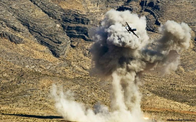 Avioane ruse au bombardat poziții ale unei alianțe a rebelilor din Siria