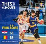 Baschet masculin: România a învins dramatic Croaţia, în preliminariile Cupei Mondiale FIBA 2019