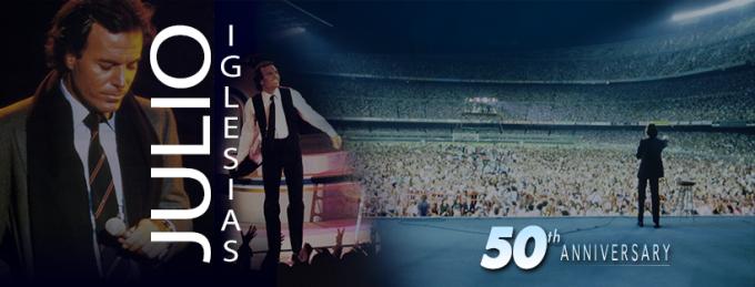 Cântăreţul spaniol Julio Iglesias va marca 50 de ani de carieră