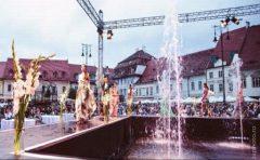 Cătălin Botezatu, Clara Rotescu și Alexandra Calafetean – la Sibiu Fashion Days
