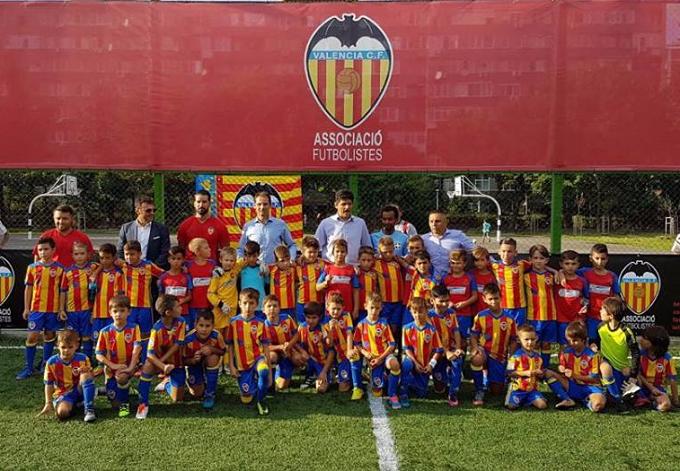 CF Valencia și-a deschis școală de fotbal în România: Valencia Academy București