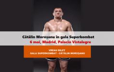 CUMPĂRĂ BILET: Moroșanu va lupta, la Superkombat Madrid, cu gigantul polonez Krupadziorow
