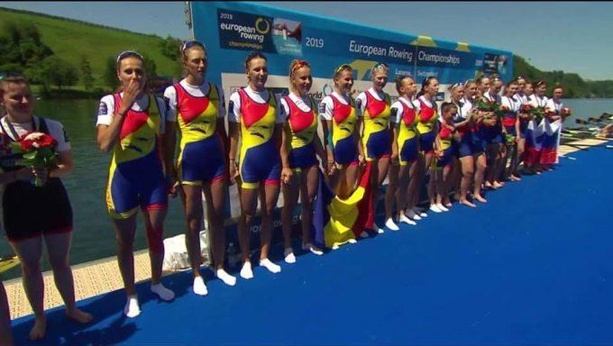Canotaj: România a cucerit şase medalii la Campionatele Europene de la Lucerna