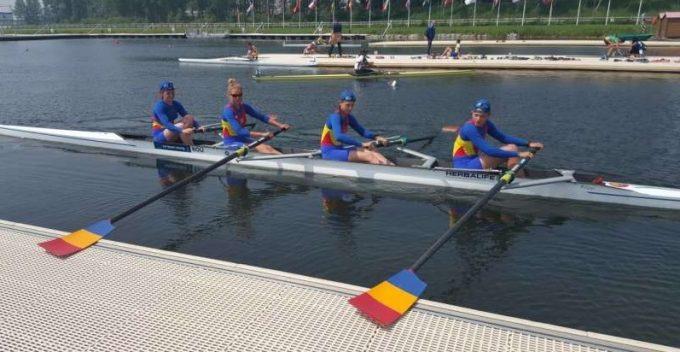 Canotaj: România a cucerit o medalie de aur, 5 de argint şi una de bronz la Campionatele Europene de juniori din Franţa