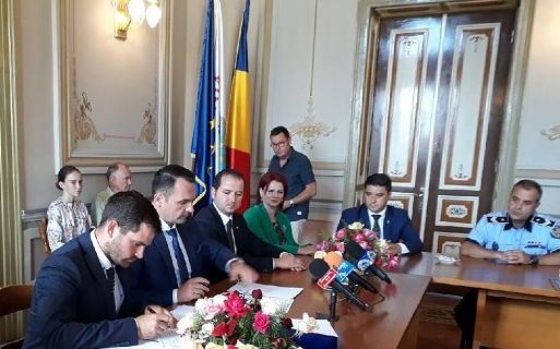Castellón și Târgoviște, orașe înfrățite oficial într-o întrunire din Târgoviște