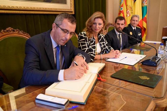 Castellón ha sellado el hermanamiento con la ciudad rumana de Târgoviște