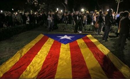 Catalonia îi îngrijorează pe spanioli mai mult decât corupția (sondaj)
