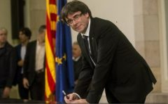 Catalonia: Semnarea declarației de independență este deocamdată un 'act simbolic' (purtător de cuvânt catalan)