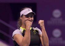 Ce a declarat Monica Niculescu, după victoria în faţa Mariei Şarapova