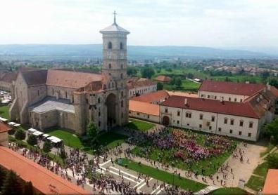 Cel mai mare flashmob realizat de copii în România, în Cetatea Alba Carolina