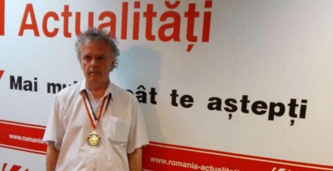 Celebrul comentator sportiv Ilie Dobre, în Hall of Fame-ul Academiei Recordurilor Mondiale