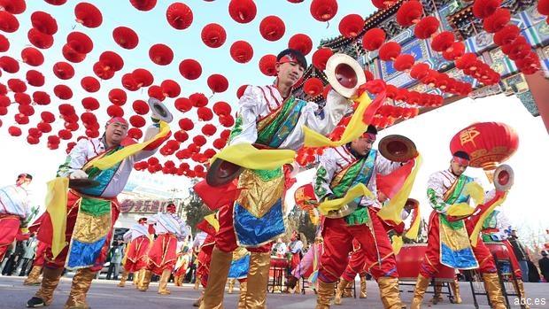 China y parte de Asia celebran el año del mono de fuego