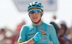 Ciclism: Columbianul Miguel Angel Lopez (Astana) a câștigat etapa a 15-a a Turul Spaniei