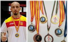 Claudiu Mihăilă, sportivul român din Spania cu o colecție de medalii în arte marțiale