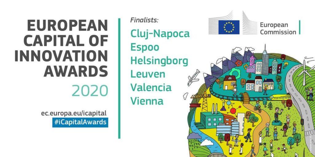 Cluj-Napoca și Valencia, între primele şase oraşe inovatoare din UE
