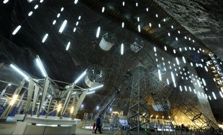 Cluj: Record de turişti în 2017 înregistrat la Salina Turda