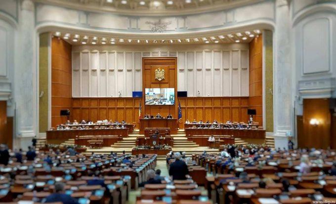 """VIDEO: Codul penal - adoptat de Camera Deputaţilor: 167 voturi """"pentru"""", 97 """"împotrivă"""", 19 """"abțineri"""""""