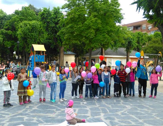 Comunitatea românească din Arganda del Rey (Madrid) a sărbătorit Ziua internațională a copilului